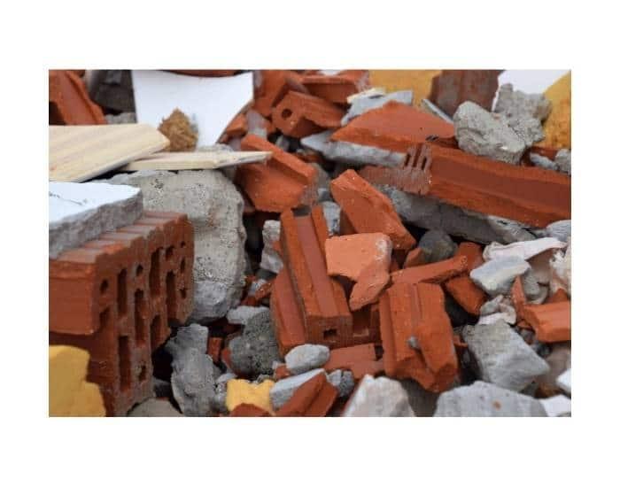 Esempio di smaltimento rifiuti edili