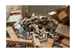 Smaltimento di rifiuti edili