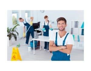 Operatori che lavorano presso impresa di pulizie Roma