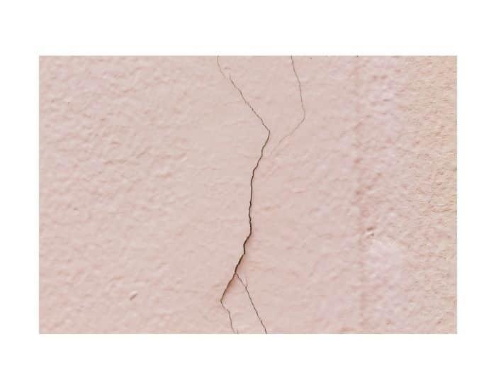 Esempio di crepe nei muri