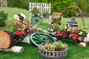 Idee aiuola giardino